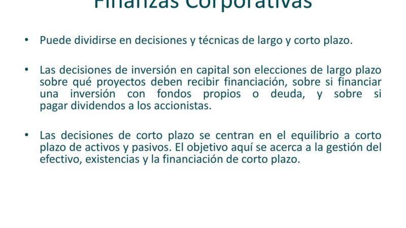 Finanzas corporativas: ¿cuáles son los beneficios?
